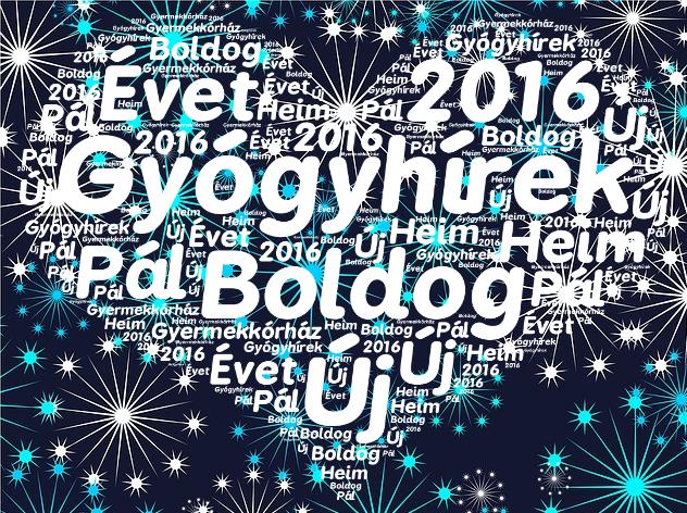 új év 2016-
