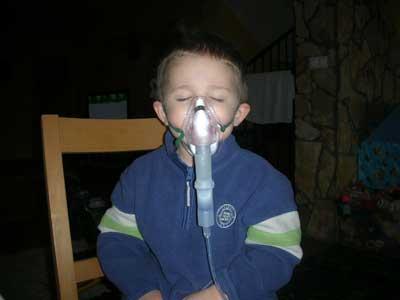 Pamli Tünde: Inhalálás
