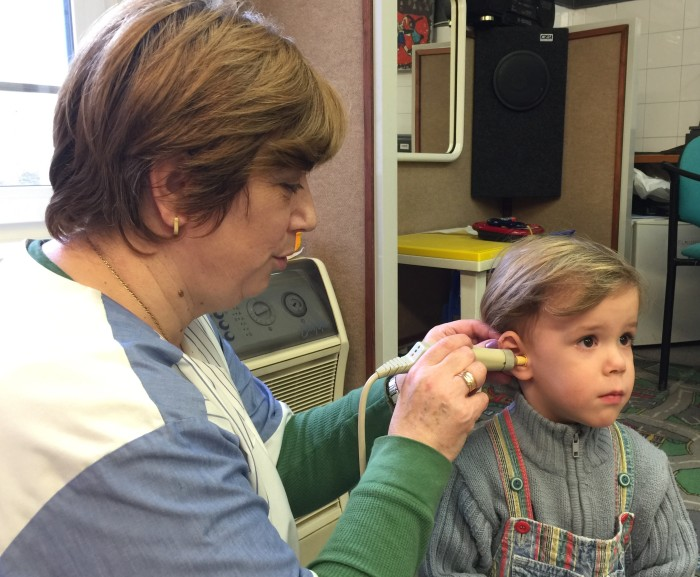 audiológiai szűrővizsgálat