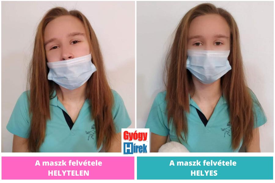 orr-száj maszk használata