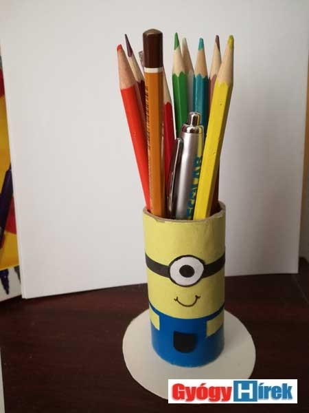 ügyeskedjünk- ceruzatartó