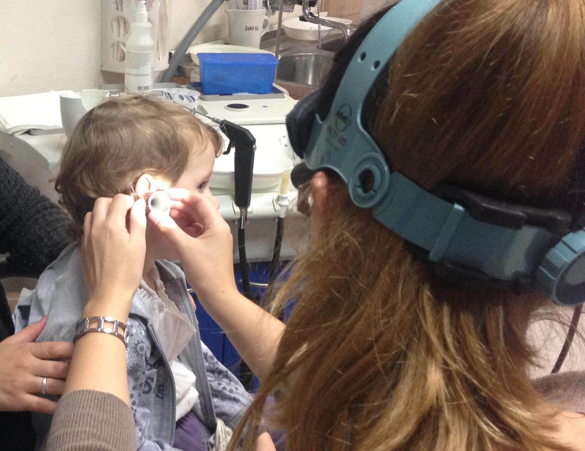 külső hallójárat gyulladása