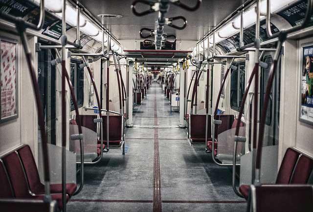 metró belseje