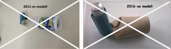 asztma - helytelen inhalátor