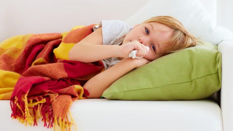 influenzás beteg