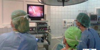 minimal invazív gyermeksebészet műtét