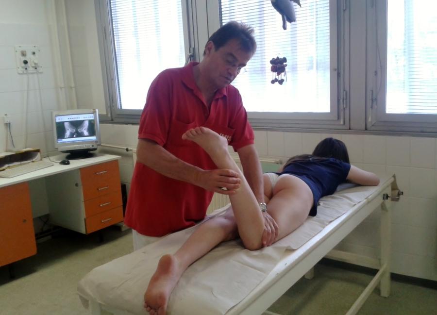 ortopéd vizsgálat láb